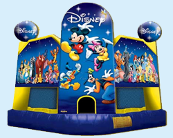 World of Disney - Mickey Mouse bounce house