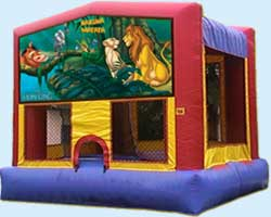 The Lion King bounce house