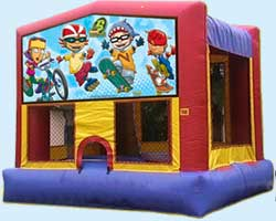 Rocket Power bounce house