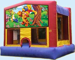 Winnie the Pooh bounce house